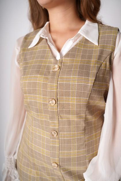 ReClassic Plaid Dress